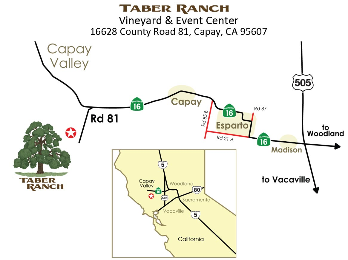 Taber Ranch Directions