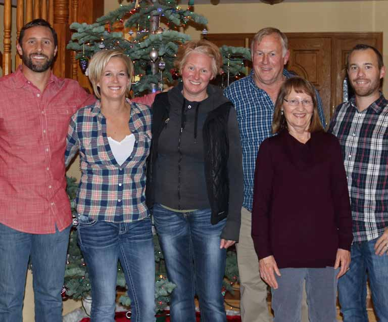 The Taber Ranch Family