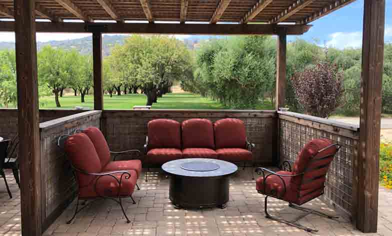 Covered Patio at Taber Ranch